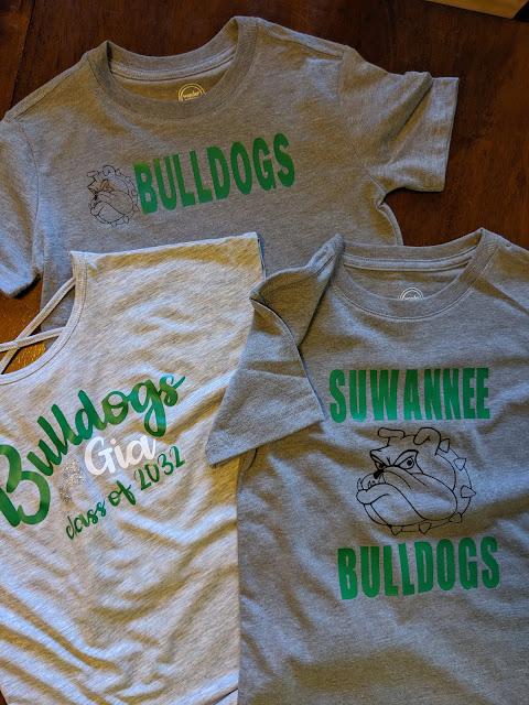 Suwannee Bulldog T Shirt | Cricut Craft | www.kristenwoolsey.com