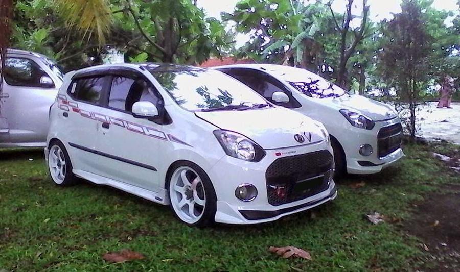 Tips Modifikasi Mobil Daihatsu Ayla Tampak Elegant ...