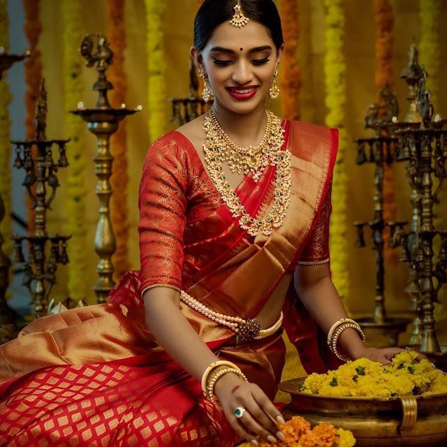 Traditional Bridal Sets by Srikrishna Jewels