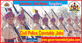 KSP Recruitment 2018 Apply Online for 2113 Civil Police Constable Jobs