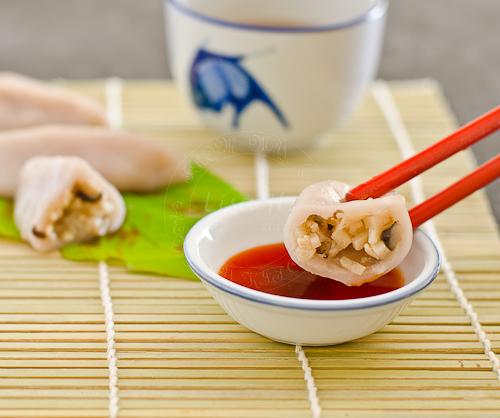 Hakka Bamboo Dumplings