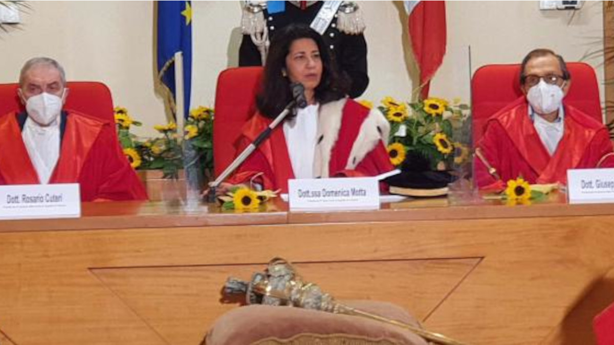 Anno Giudiziario 2021 Catania