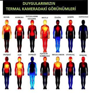 Duygulara göre vücut sıcaklığımız