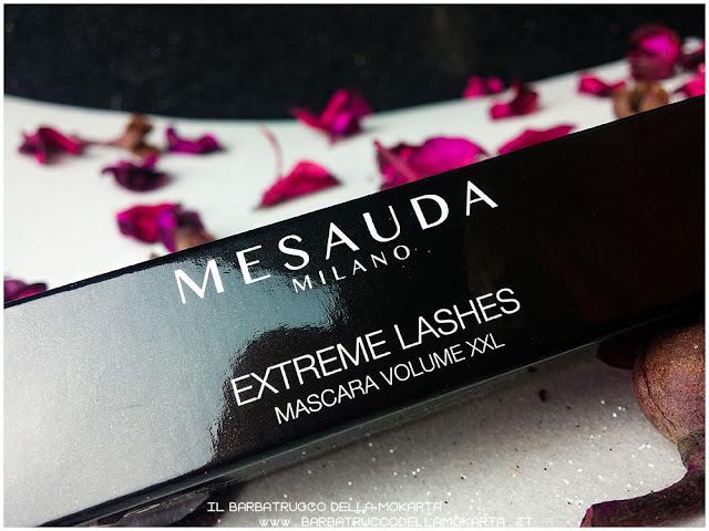 extreme lashes mascara mesauda milano rimmel  black