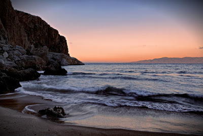 Morocco Beach sunset