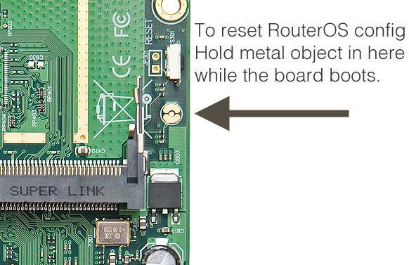 Cara Reset Mikrotik RB750 / RB951 / RB751