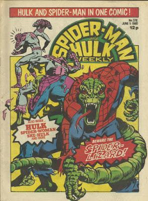 Spider-Man & Hulk Weekly #378, Spider-Lizard
