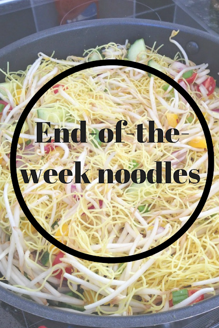 End-of-the-week noodles. Nourish ME: www.nourishmeblog.co.uk