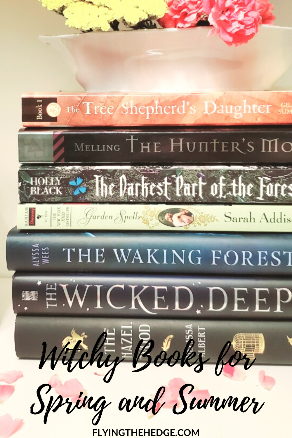 witch, books, reading, summer, witchy, witchy reads, occult
