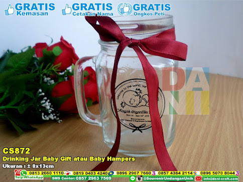 Drinking Jar Baby Gift Atau Baby Hampers