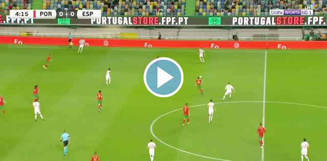 Portugal vs Spain Live Score