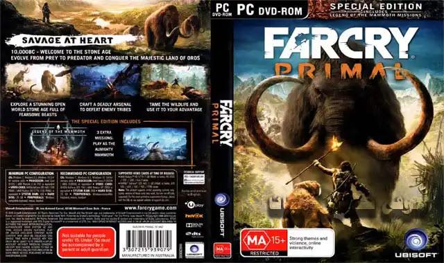 تحميل لعبة far cry primal  مضغوطة بحجم 9 جيجا
