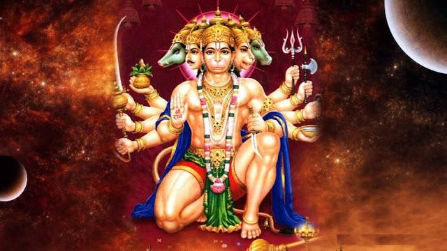 Hanuman Chalisa lyrics -  Hindi and in English