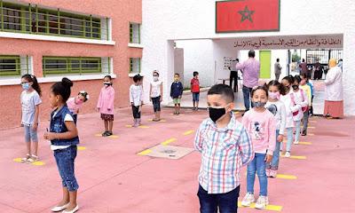 Maroc- la rentrée scolaire reportée au 10 septembre 2021