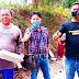 Kepala Desa Karyasari Gaya Mulyana, Perbaiki Jalan Lingkungan Rw. 11