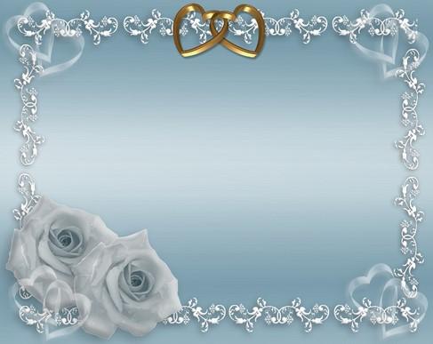20 Contoh Desain Bingkai Undangan Pernikahan