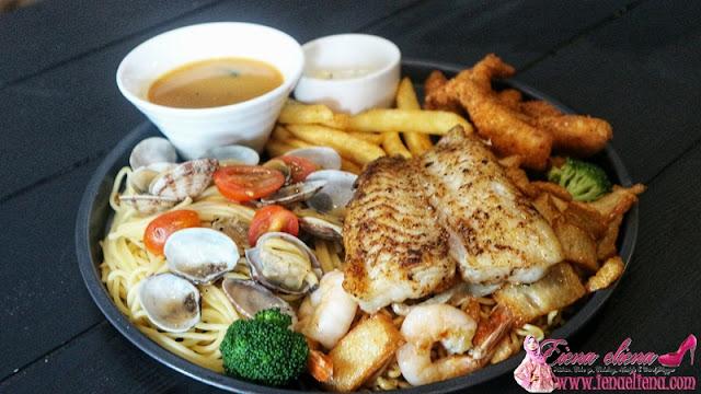 Seafood Platter RM36.90