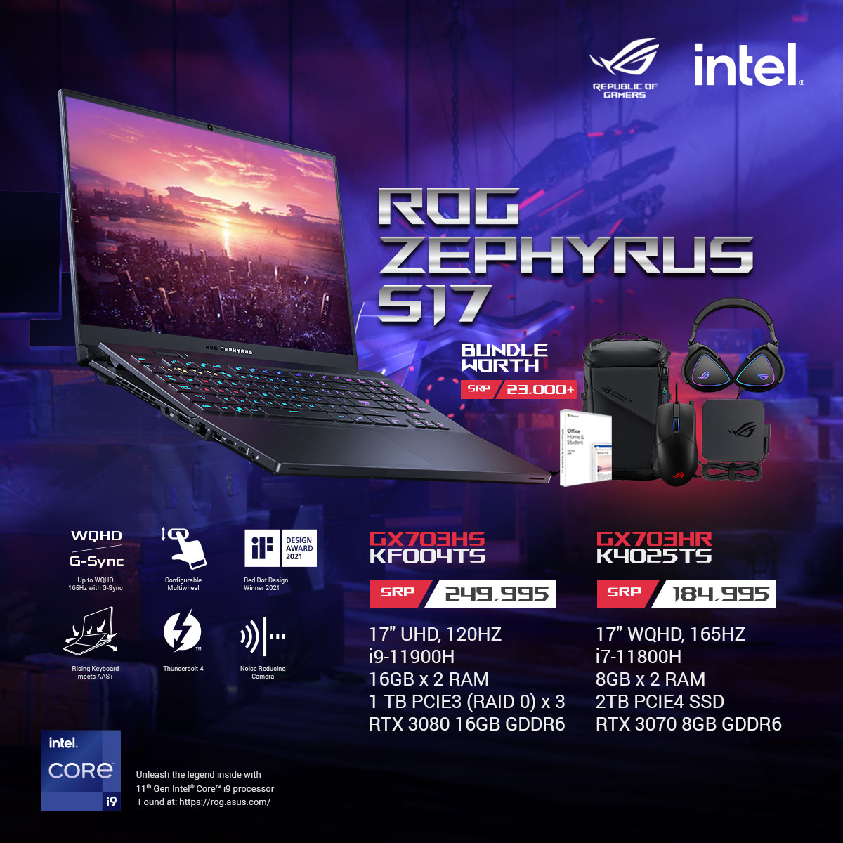 ROG Zephyrus S17 Key Features and Price
