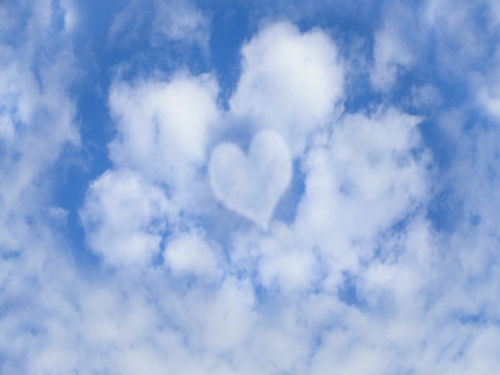 Sky Wallpapers: Blue Love In The Sky Wallpaper, Love Wallpapers Free