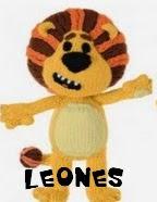 http://patronesjuguetespunto.blogspot.com.es/2014/06/patrones-leones.html