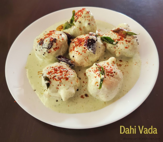 images of Thayir Vadai Recipe / Curd Vada Recipe / Dahi Vada Recipe / Soft Dahi Vada Recipe