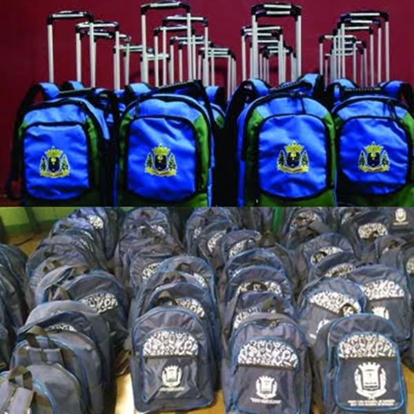 Prefeitura de João Câmara publica investimento de RS 110 mil, em mochilas escolares para os alunos da rede municipal