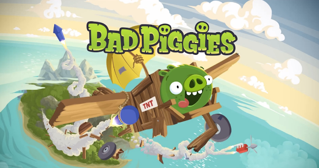 Game Bad Piggies HD Mod Apk