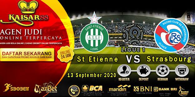 Prediksi Bola Terpercaya Liga 1 Prancis Saint-Etienne vs Strasbourg 13 September 2020