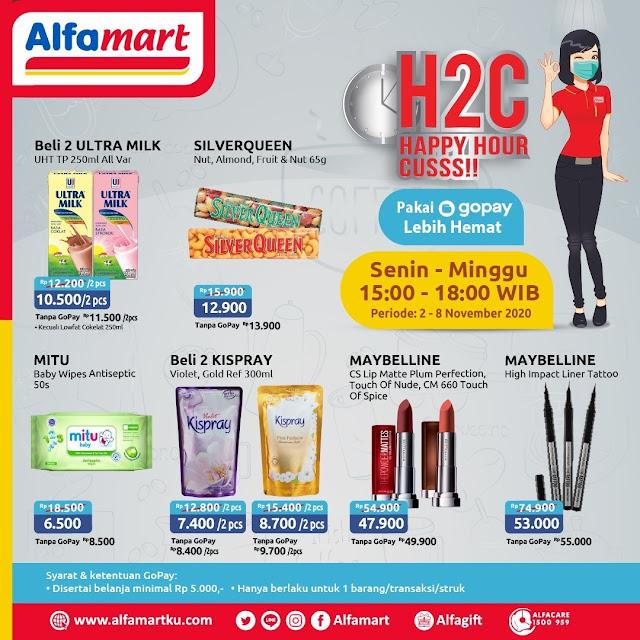 #Alfamart - #Promo Katalog Happy Hour Cuss (H2C) Periode 02 - 08 November 2020
