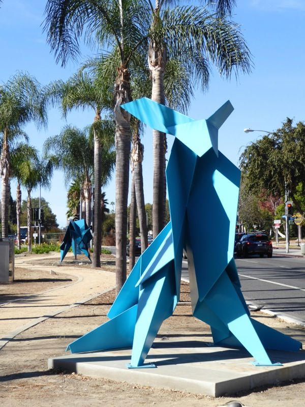 Hacer Chase outdoor sculptures West Hollywood