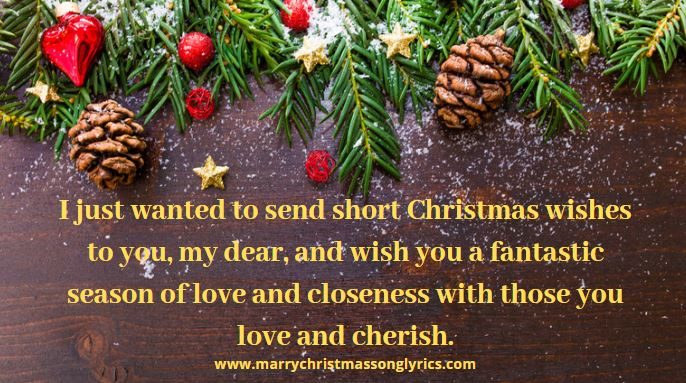 Merry Christmas Wishes Inspirational