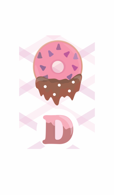 D Pink Donuts for Sweet Chat
