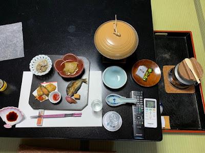 碧水荘 夕食その1