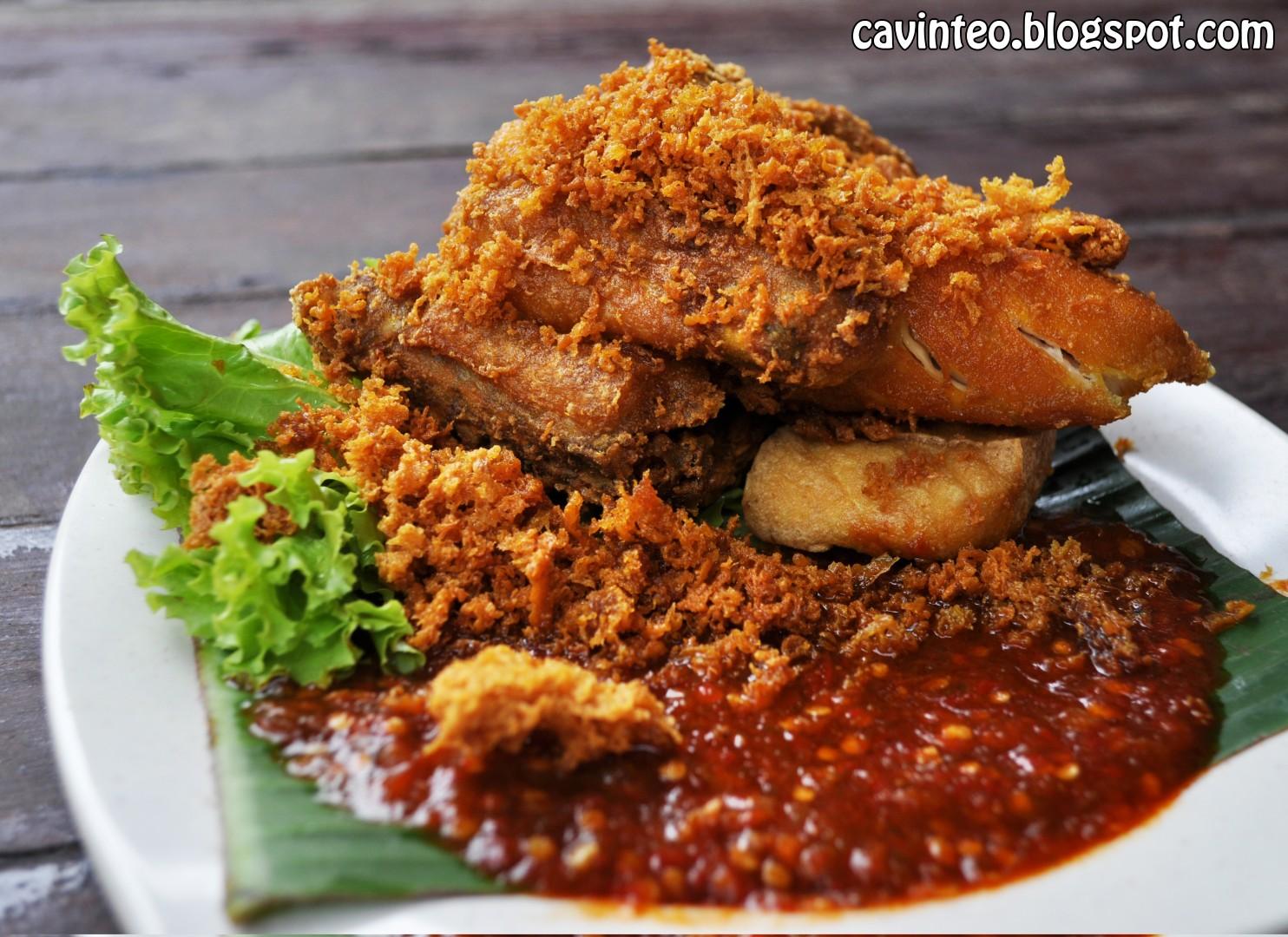 Entree Kibbles: Best Selling Nasi Ayam Penyet? @ Nur Indah