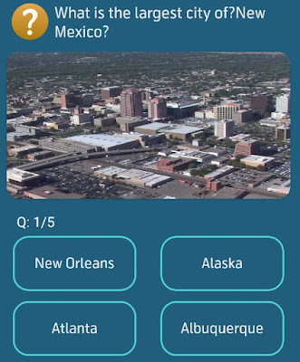 What is the largest city of New Mexico?
