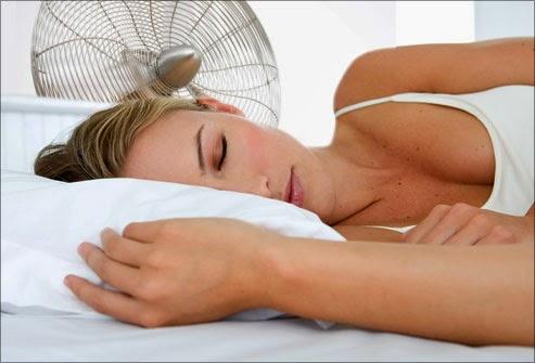 Pastikan ruangan anda cukup dingin pada saat anda tertidur