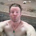 INSANE: Naked Farmer performs press ups on the back of moving pickup for charity
