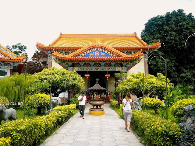 Buddhist temple, Penang, Malaysia