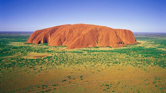 Uluru in the Northern Territory, Australia