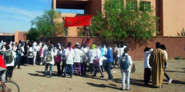 taroudantpress  الرباط: إغلاق مدرسة ثانوية لعدم التقيد بالإجراءات  تارودانت بريس