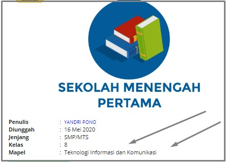 RPP Daring TIK Kelas VIII SMP