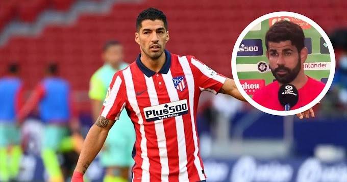 I don't understand how Barca have let a player like Luis Suarez leave: Atletico Madrid striker Diego Costa reacts to Suarez move
