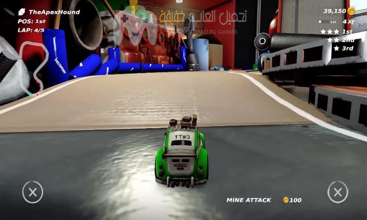 تحميل لعبة Table Top Racing World Tour بحجم صغير للكمبيوتر