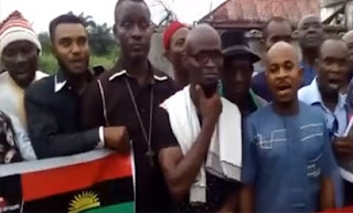 Video: Ikewere people of Niger Delta declare support for Biafra