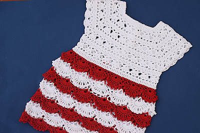 5 - Crochet Imagen Falda para canesú a crochet y ganchillo por Majovel Crochet
