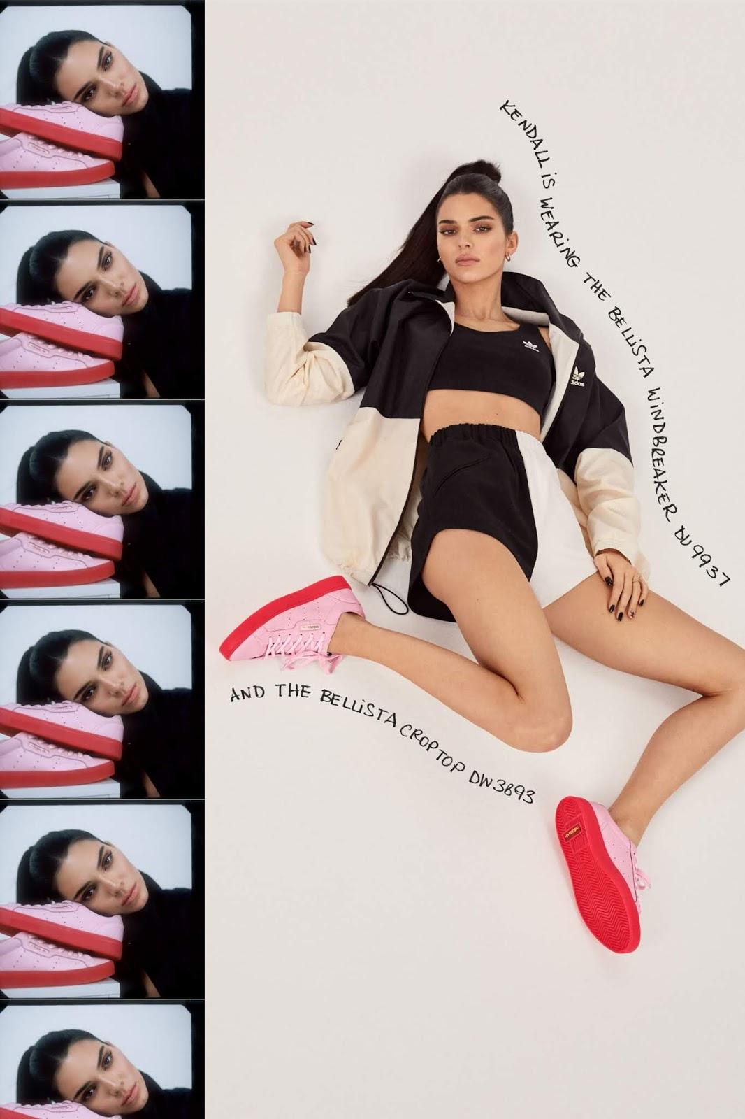 Kendall Jenner - adidas' New Sleek Lookbook Spring/Summer 2019 collection