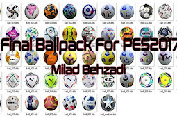 NEW Final Ballpack Season 2021 (50 Balls) - PES 2017