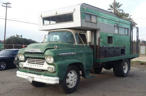 Up For Sale 1959 Chevrolet COE Truck Custom RV