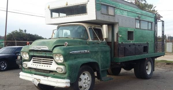 Custom RV, 1959 Chevrolet COE Truck - RV & Camper