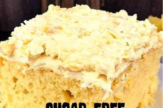 SUGAR-FREE PINEAPPLE LUSH CAKE